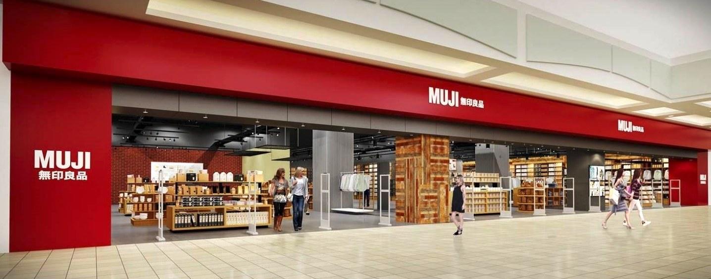 MUJI Metrotown expansion