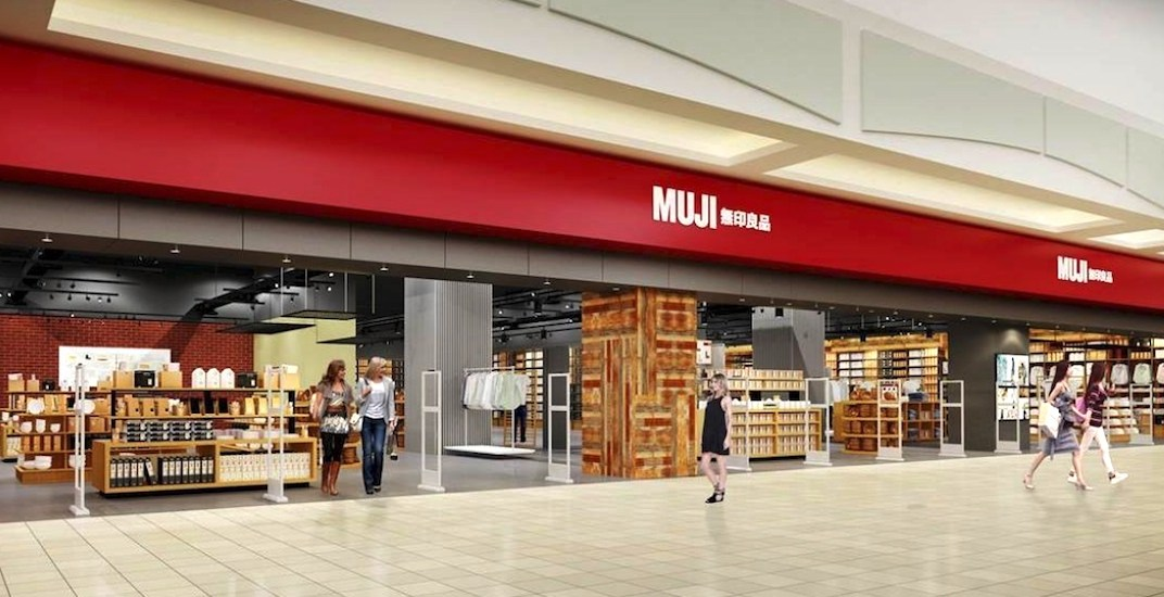 MUJI's biggest store outside of Asia is opening in Toronto on November 23