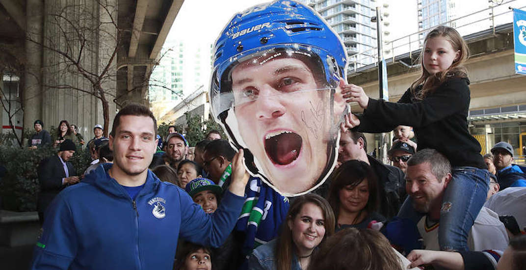 Canucks are giving away FREE beer and 4,000 'big heads' at home opener