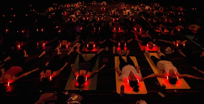 A sensory and musical infused yoga experience is coming to Montreal