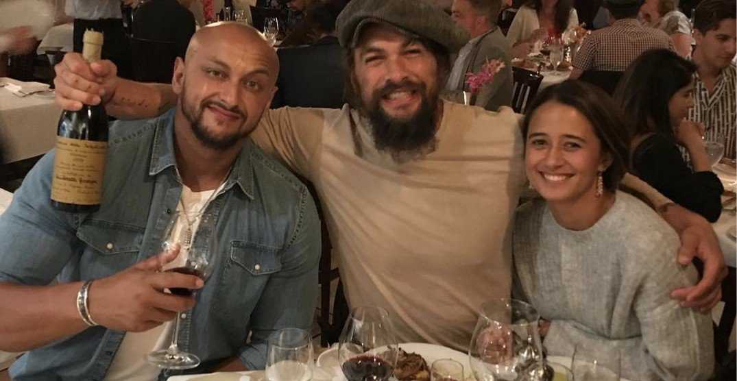 Jason Momoa spotted wining and dining in Vancouver (PHOTO)