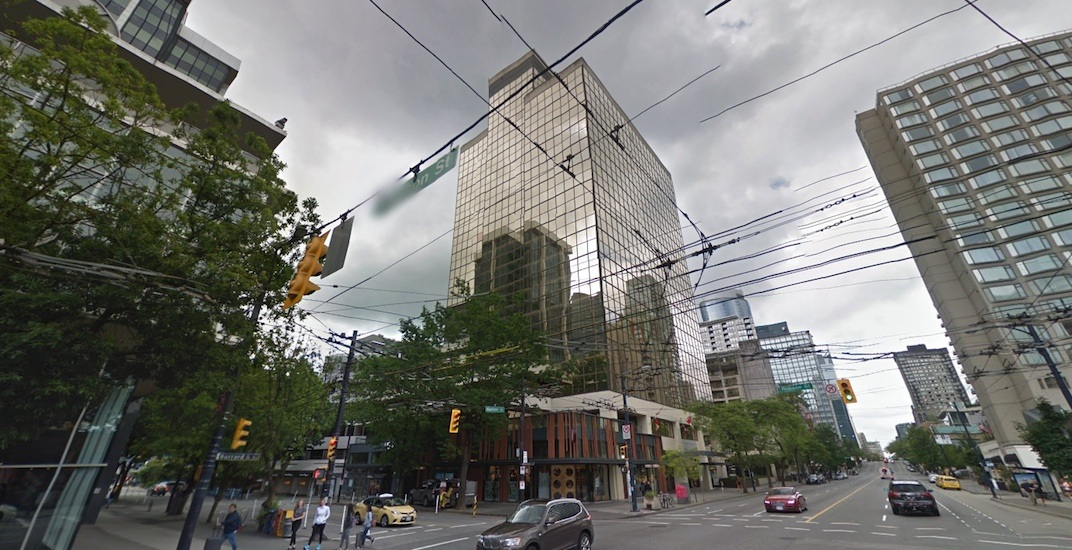 Burrard Street office building with Lululemon store sold for nearly $250 million