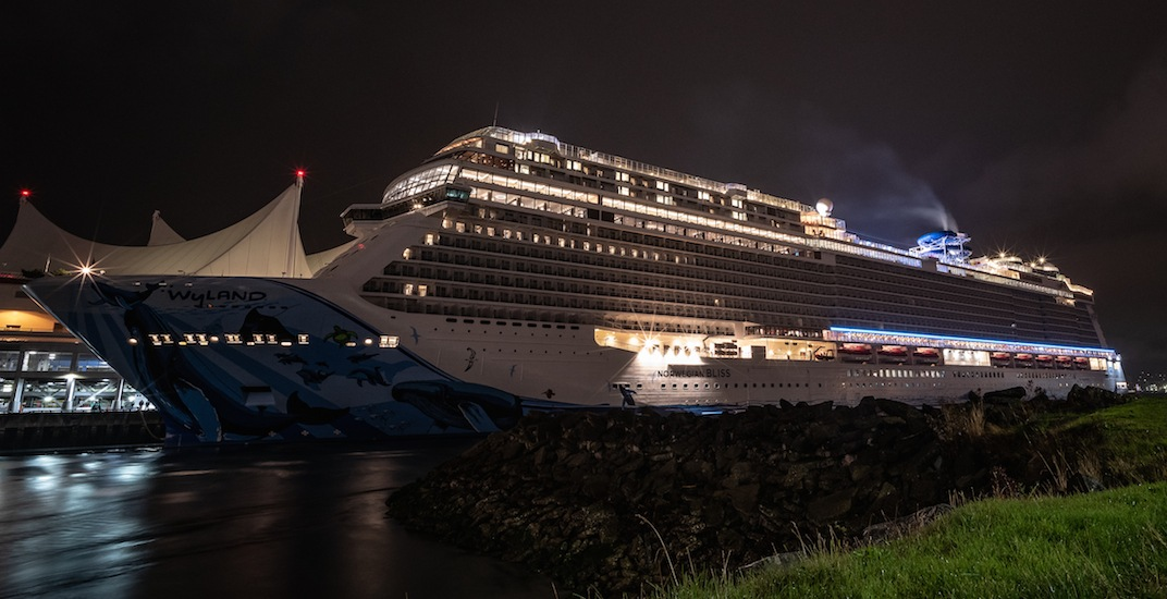 The largest cruise ship to ever visit Vancouver is now docked at Canada Place (PHOTOS)