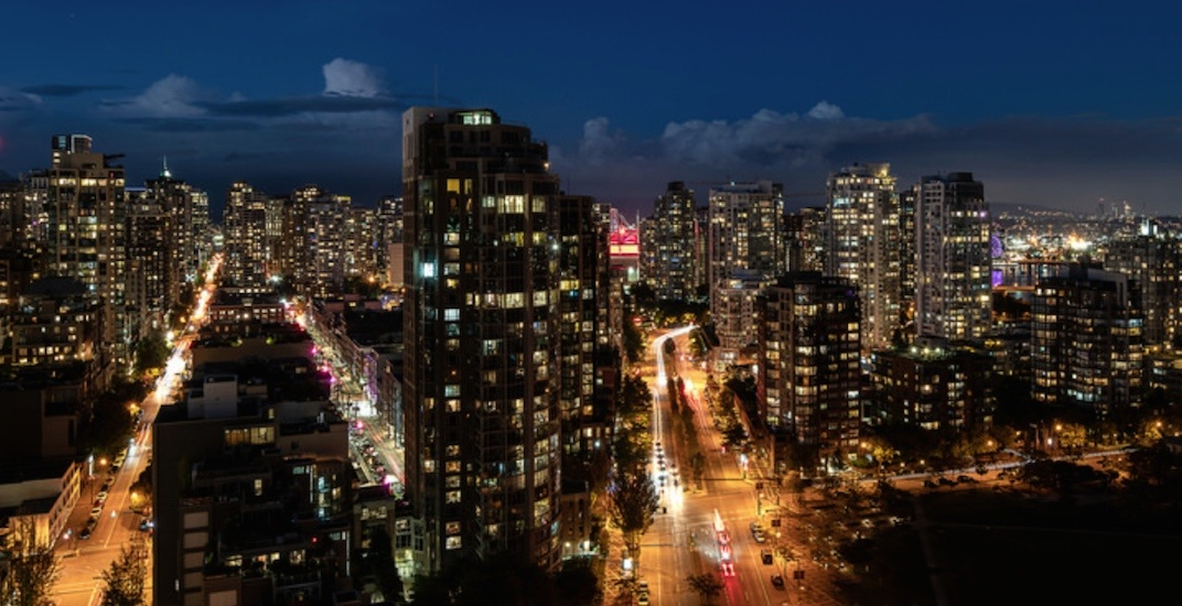 Downtown vancouver cityscape skyline