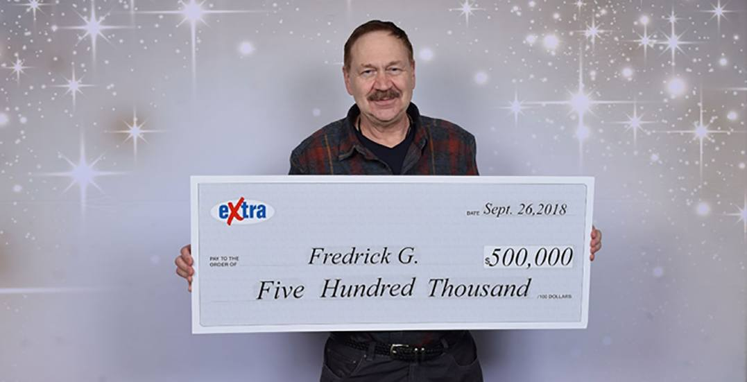 BC man wins lottery for the second time in four years