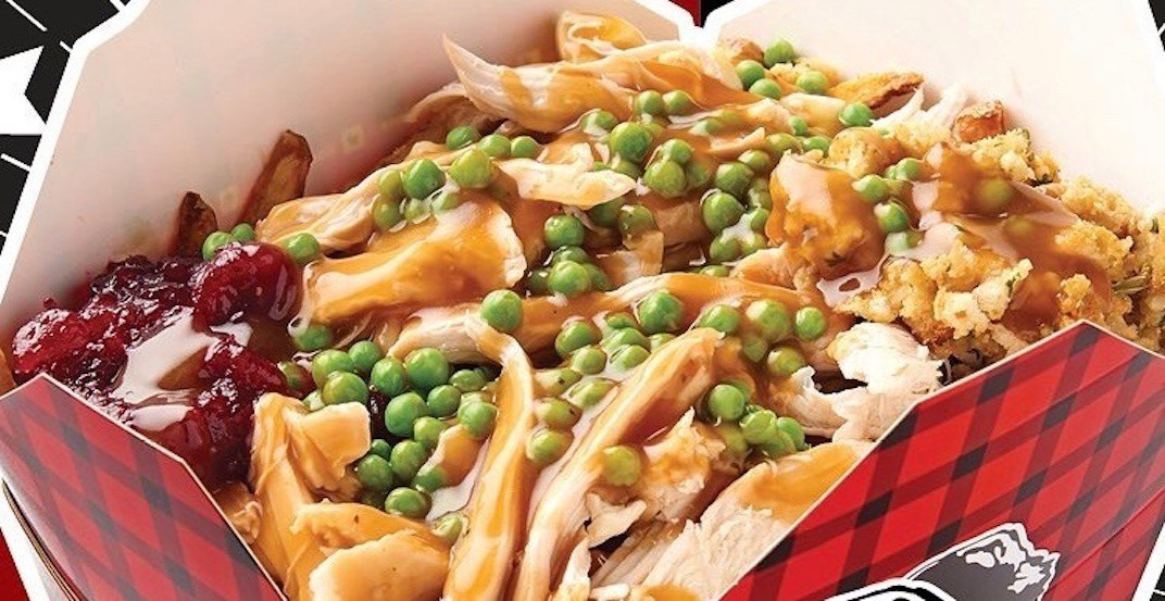 You can now get Thanksgiving-in-a-box poutine for a limited time