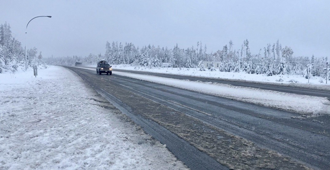 Parts of BC are already seeing winter conditions and snowfall (PHOTOS)