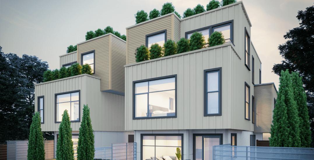 Modern home exteriorwest of main
