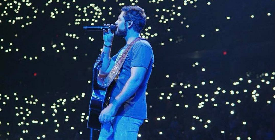 Win tickets to see country star Thomas Rhett live in Vancouver