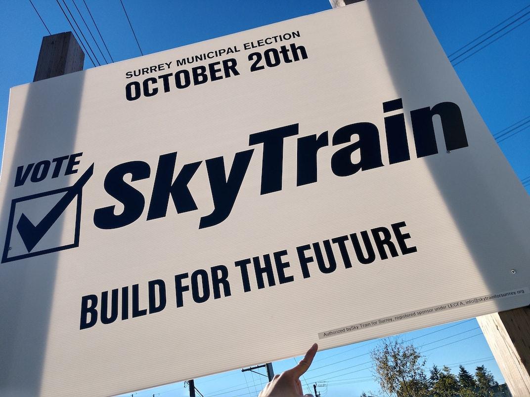 SkyTrain for Surrey
