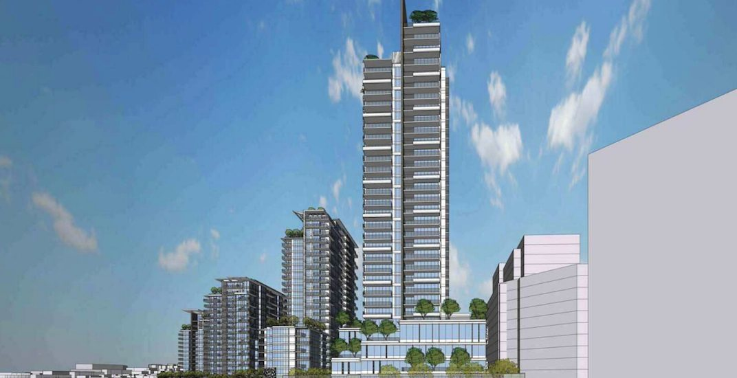 New tallest tower proposed for Brewery District in New Westminster