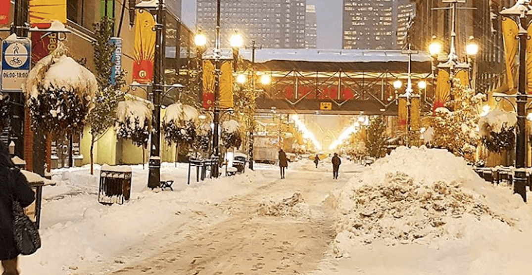 This is what it looks like in Calgary this morning (PHOTOS)