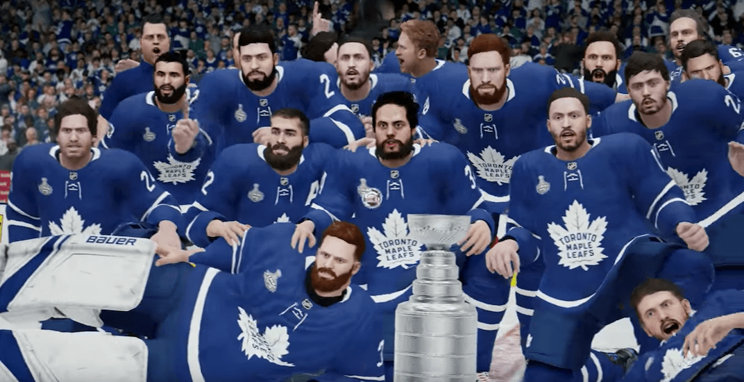EA Sports simulator predicts Maple Leafs to win Stanley Cup