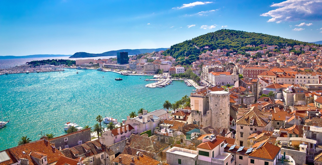 New direct flights from Toronto to the Croatian city of Split start next year