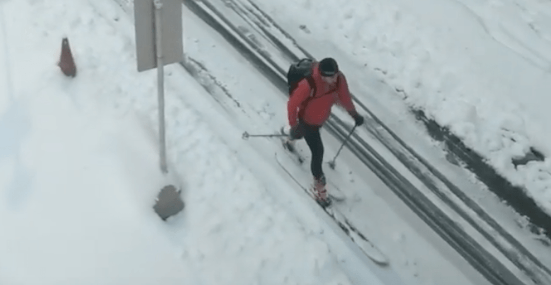 Calgarians refuse to be stopped by 40 cm of unexpected October snow (VIDEOS)