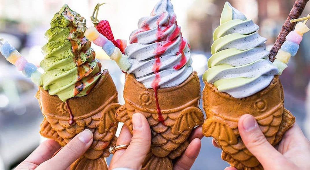 You'll soon be able to eat ice cream out of adorable fish-shaped cones in Toronto