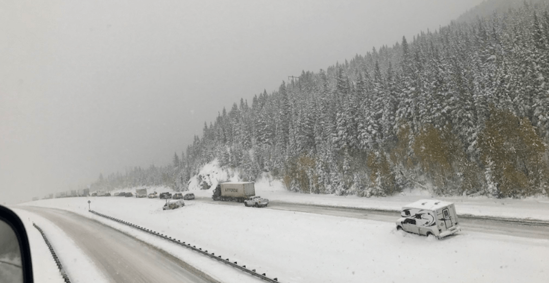 Highway 1 finally reopens after leaving travellers stranded in Canmore