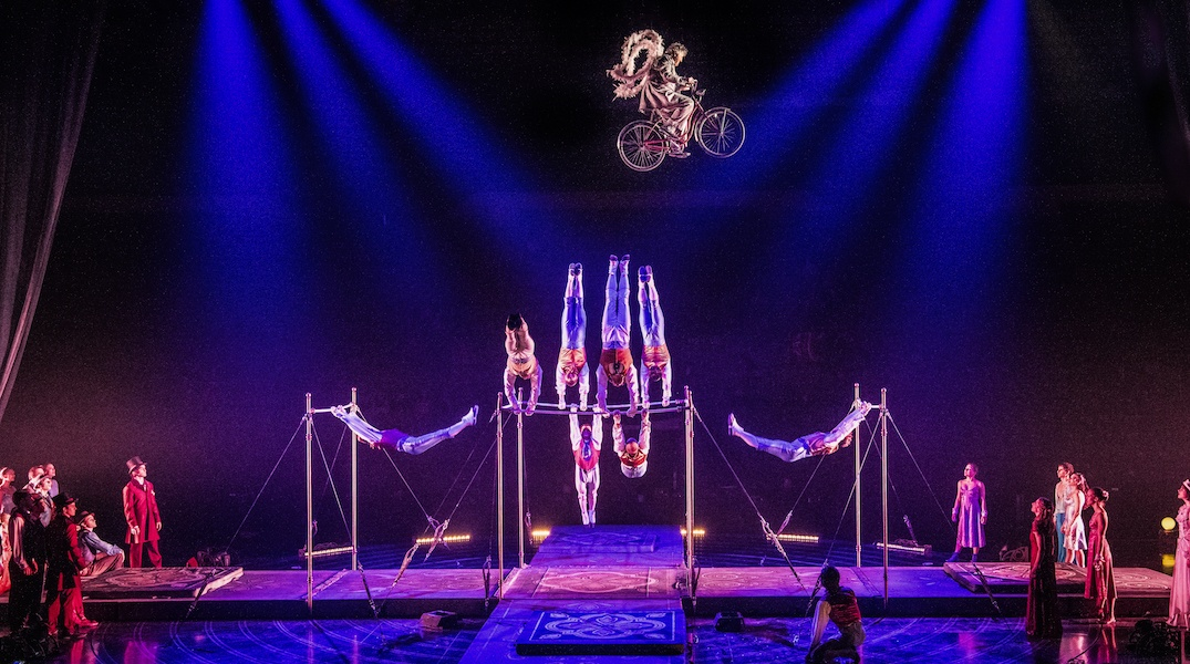 Cirque du Soleil brings a soaring carnival to Toronto this fall (PHOTOS)