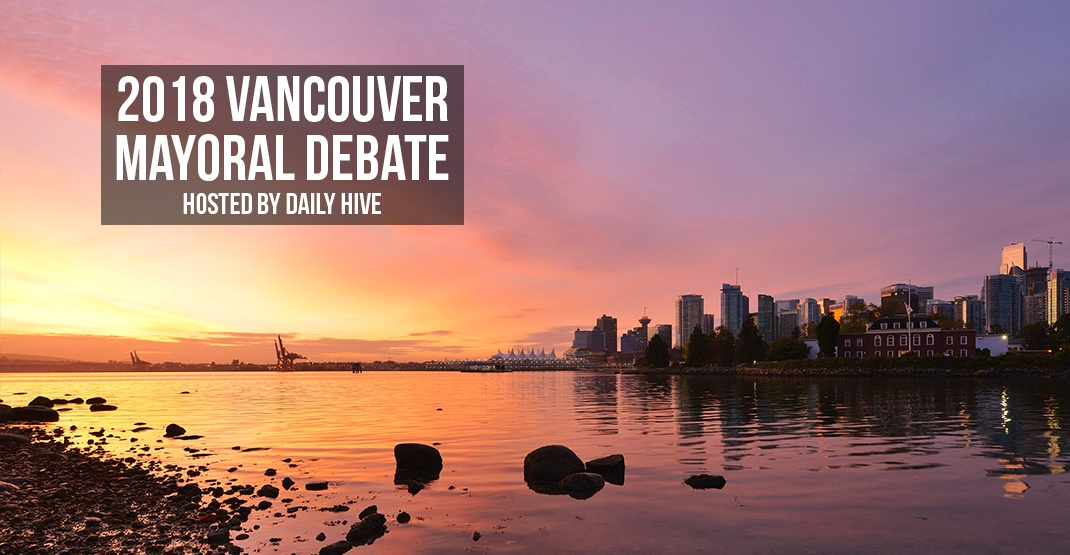 Daily Hive is hosting a Vancouver Mayoral Debate to talk about what millennials actually care about