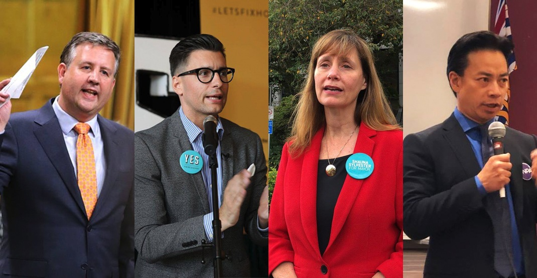 These are the 4 candidates participating in our Vancouver Mayoral Debate tomorrow