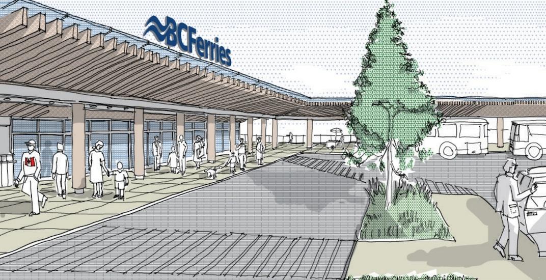 BC Ferries Swartz Bay Terminal renovation