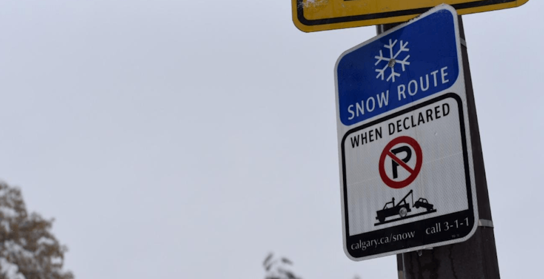 Snow route parking ban lifted with over 1,300 tickets issued