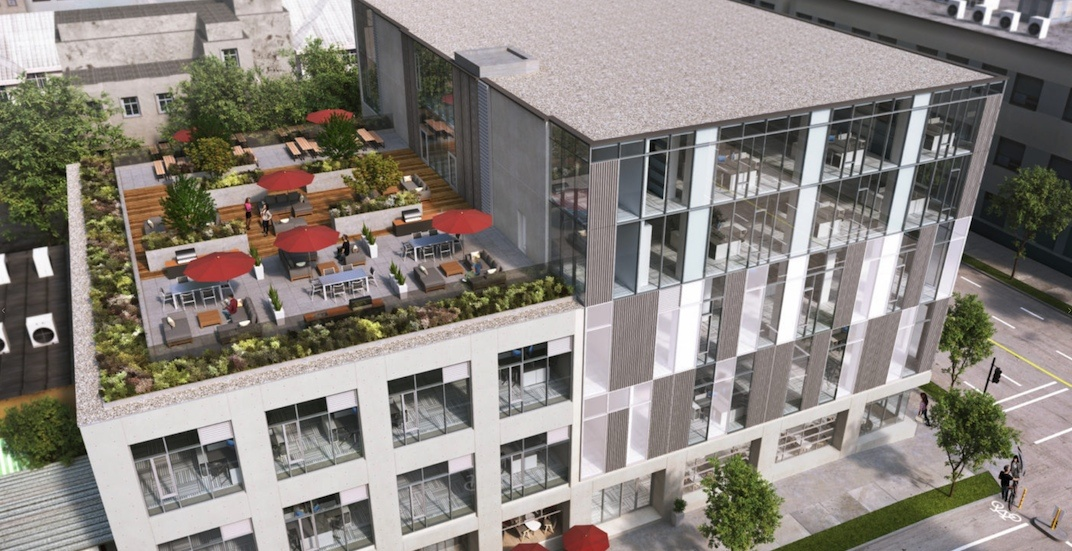 New building with creative office space coming to Adanac and Clark