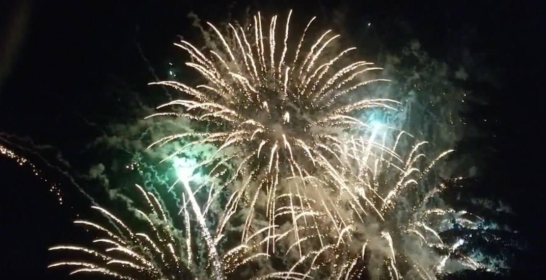 Kitimat celebrates LNG Canada's approval with huge fireworks show (VIDEOS)