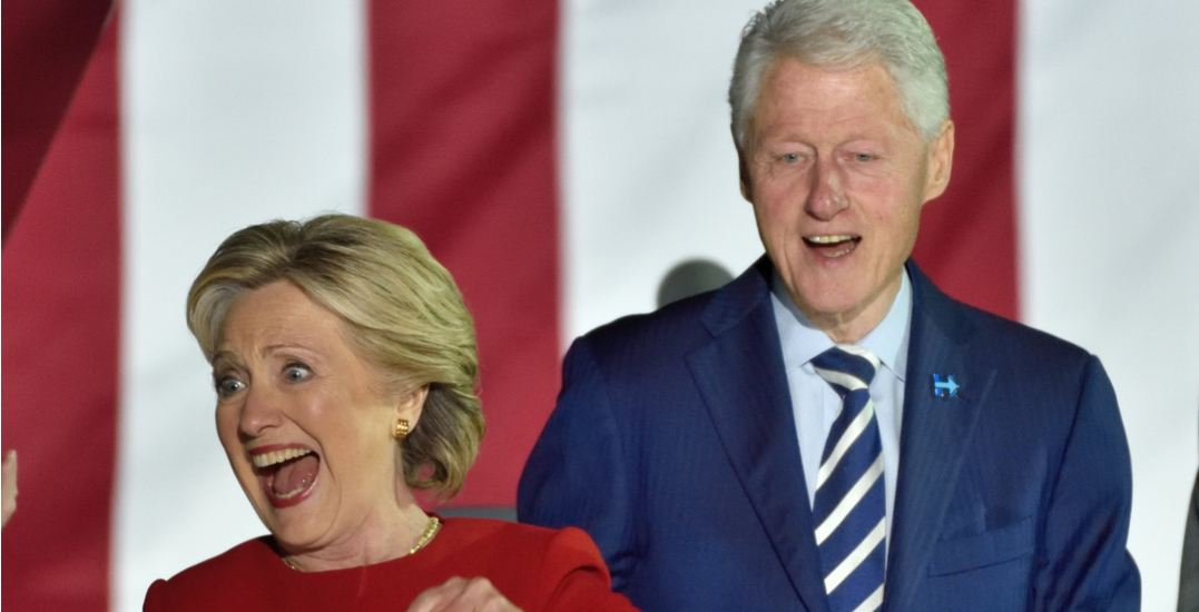 Bill and Hillary Clinton are coming to Toronto next month