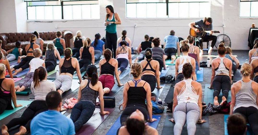 YYOGA is throwing a housewarming party in Toronto this week