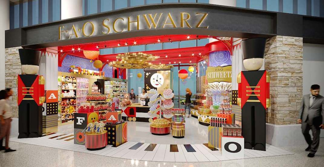 FAO Schwarz is opening pop-ups across Canada this holiday season