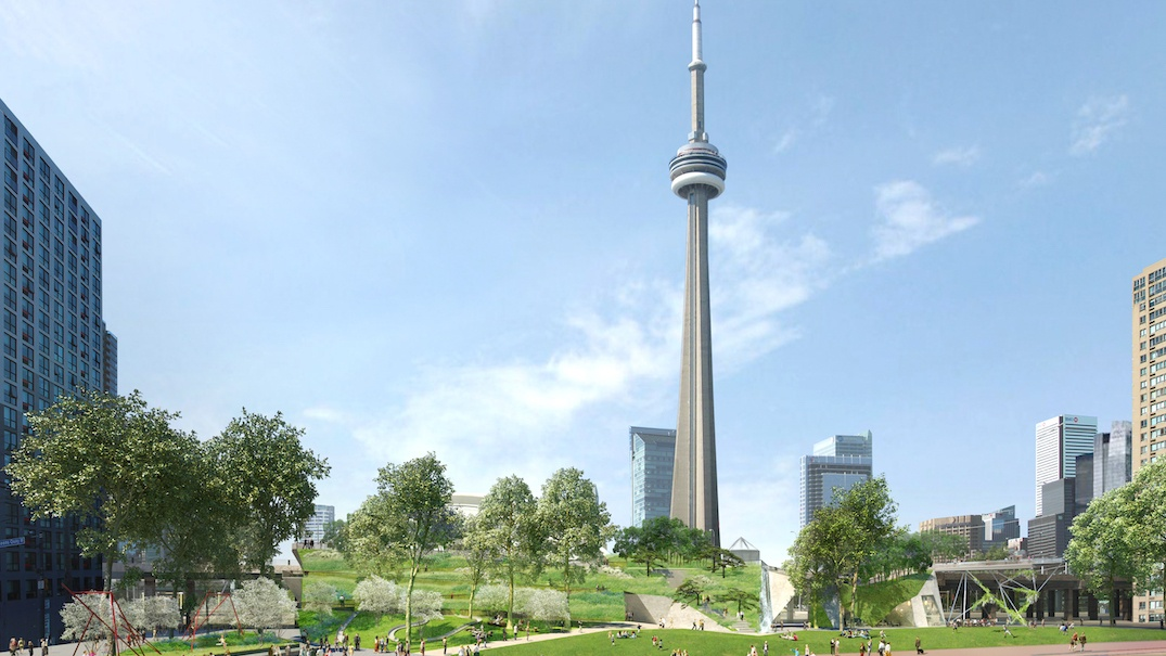 Here's what Toronto's new waterfront parks will look like