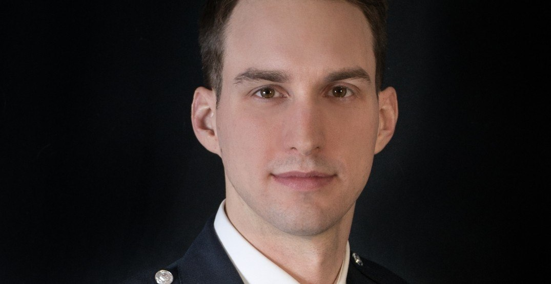 Vancouver Police officer named one of world's top 40 under 40 cops