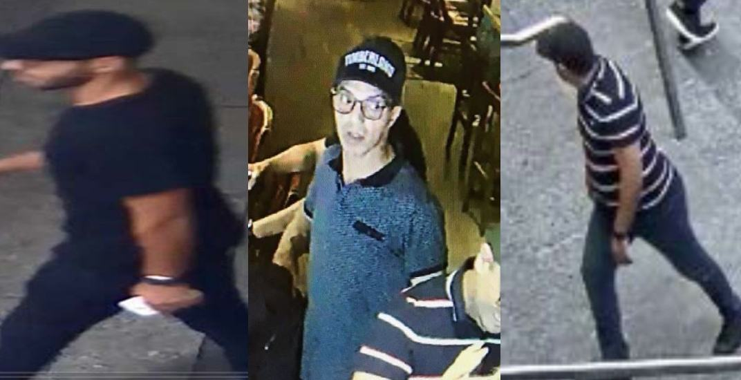 Three men wanted as part of organized theft ring in Toronto's Financial District (PHOTOS)