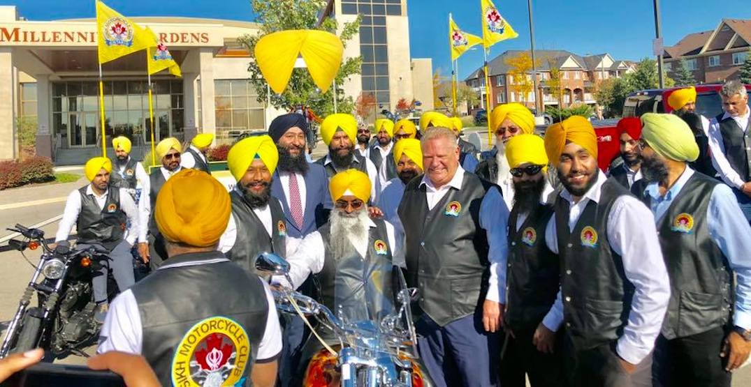 Motorcycle riding Sikhs will no longer be required to wear helmets in Ontario