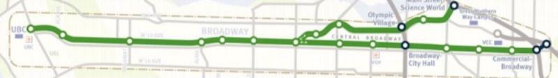 Broadway LRT Vancouver