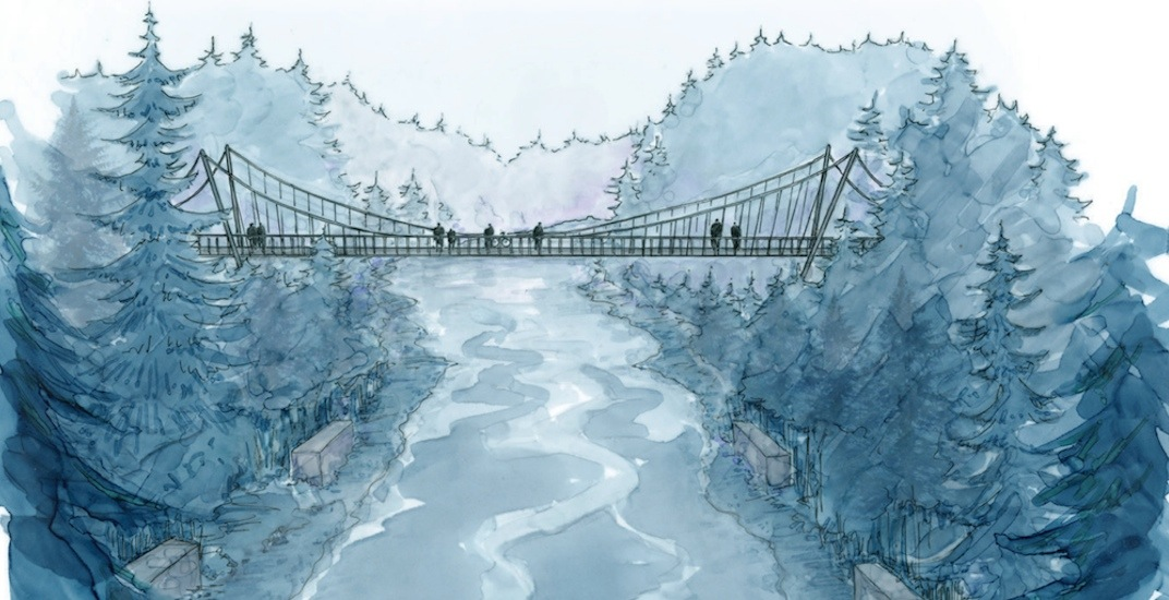 New Seymour Canyon suspension bridge in North Vancouver to open this fall