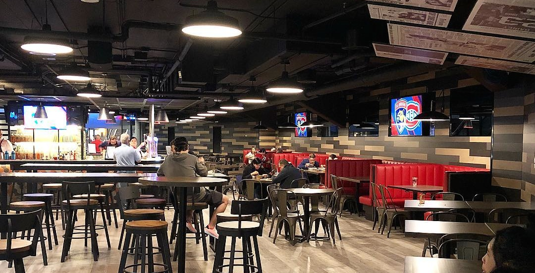 The Montreal Canadiens unveil luxurious new food hall at Bell Centre