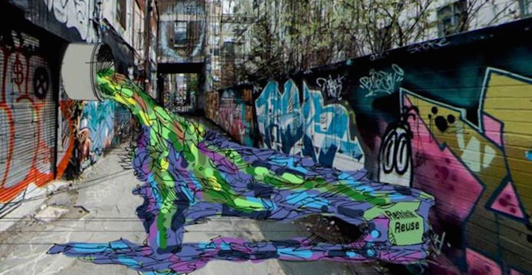 A must-see art installation is coming to Toronto's Graffiti Alley next week