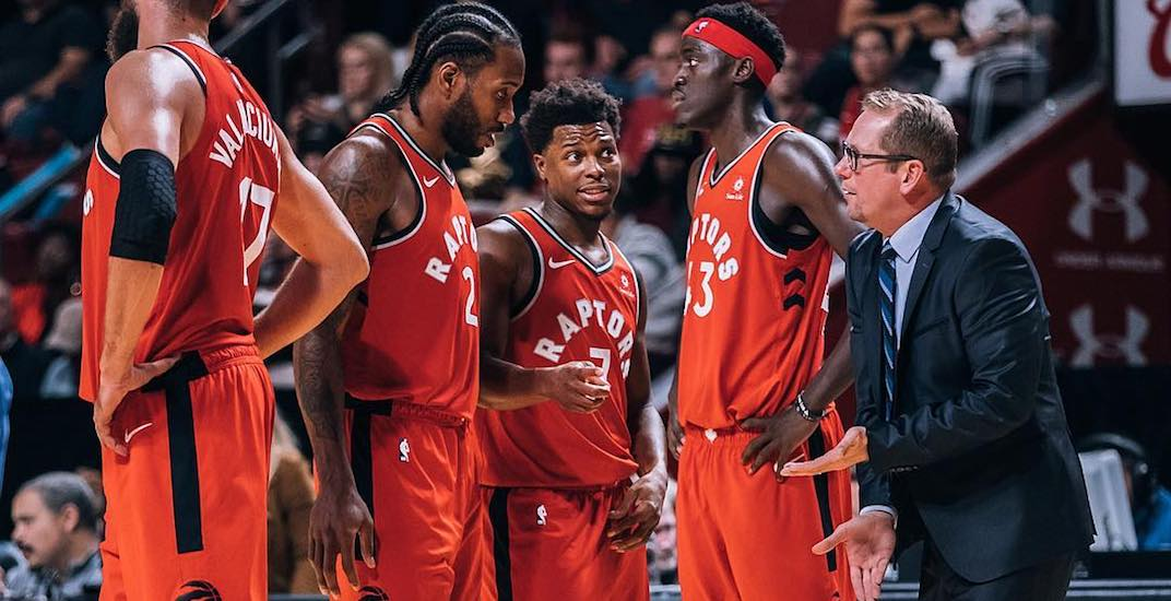 The Toronto Raptors' roster is set for opening night
