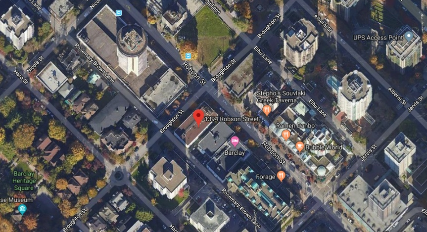 1394 Robson Street Vancouver