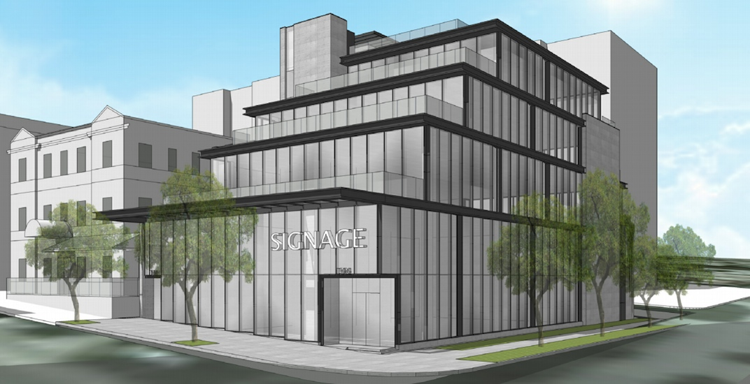 New retail and office building to replace Robsonstrasse Hotel & Suites
