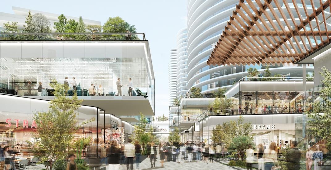 Oakridge Centre redevelopment shopping mall retail
