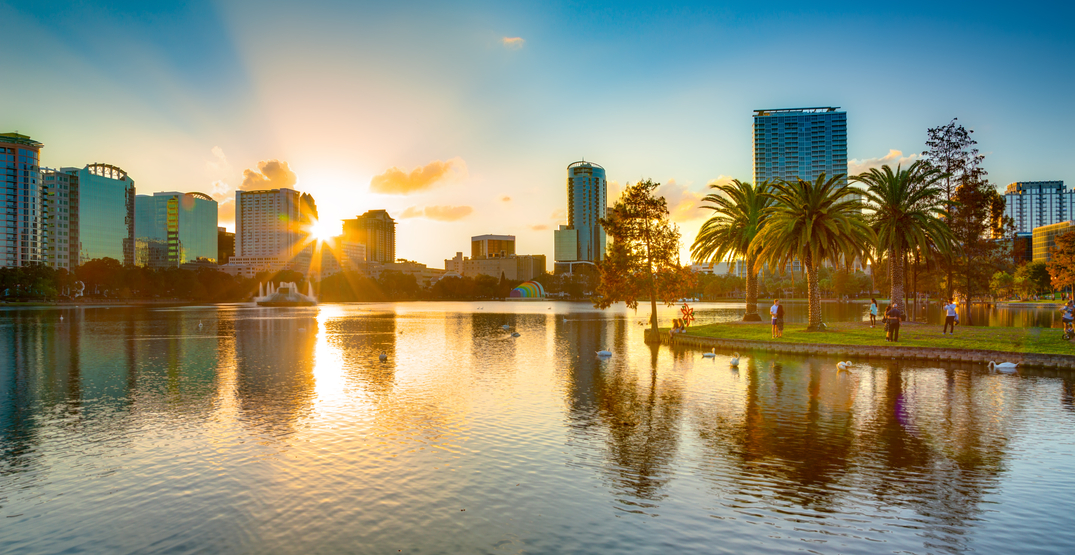 You can fly from Toronto to Orlando for $160 return this spring