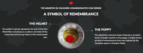New toonie released to celebrate the end of WW1 | News