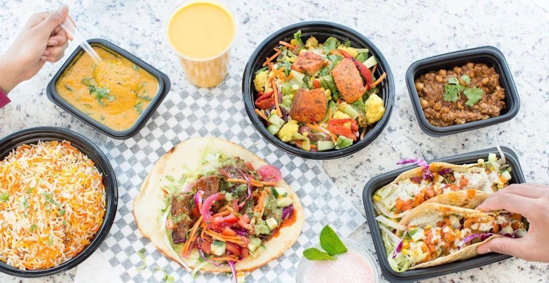 Toronto's newest fast-casual Indian spot opens this week with freebies