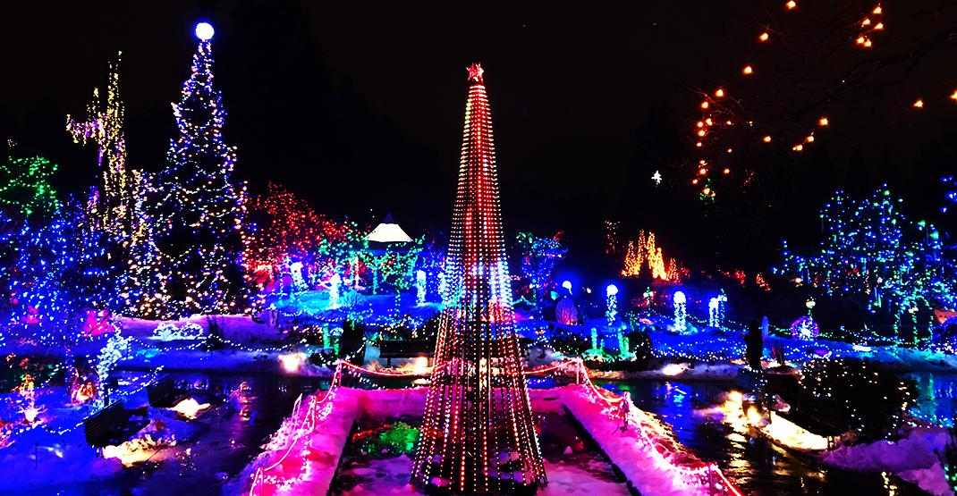 vandusen festival of lights christmas - Van Dusen Gardens Christmas Lights 2019