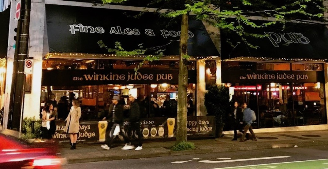 The Winking Judge has closed its doors in Vancouver after 10+ years