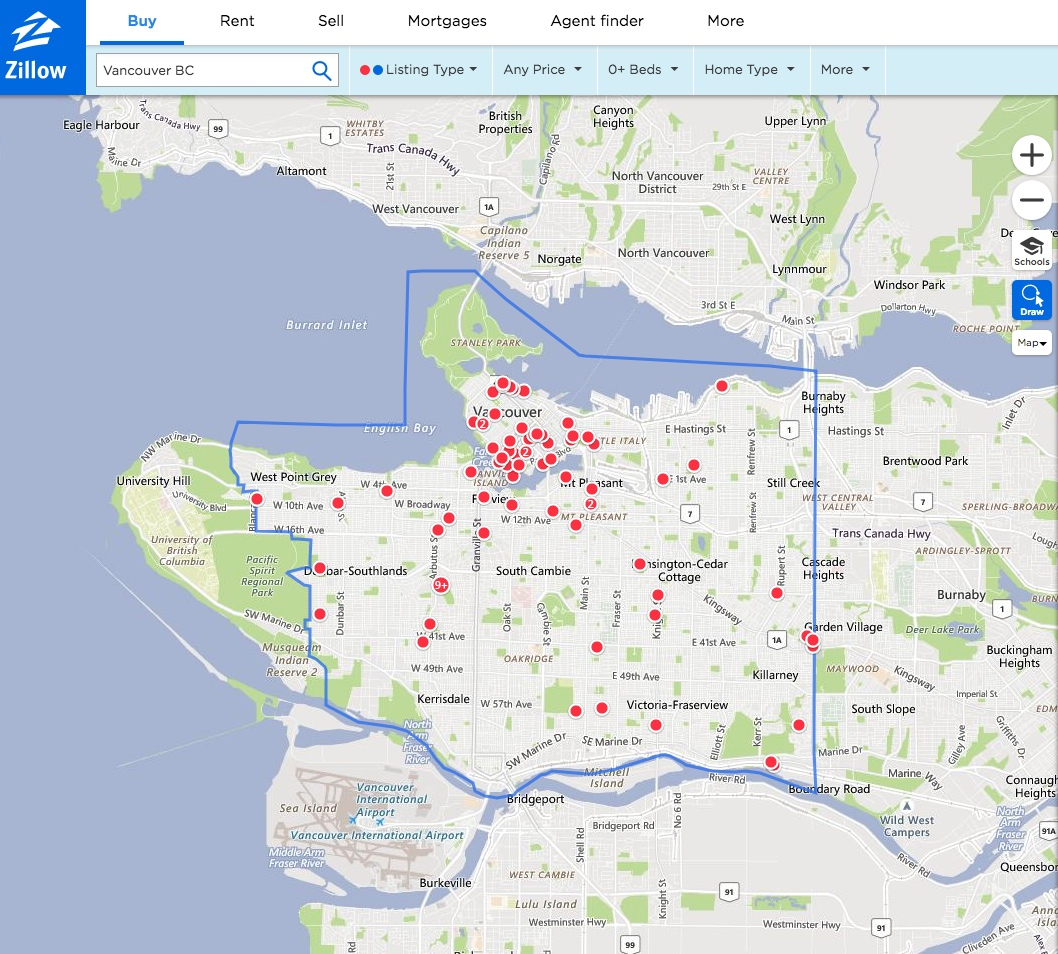 Zillow List Rental: Zillow Expands North With Its First Canadian Online