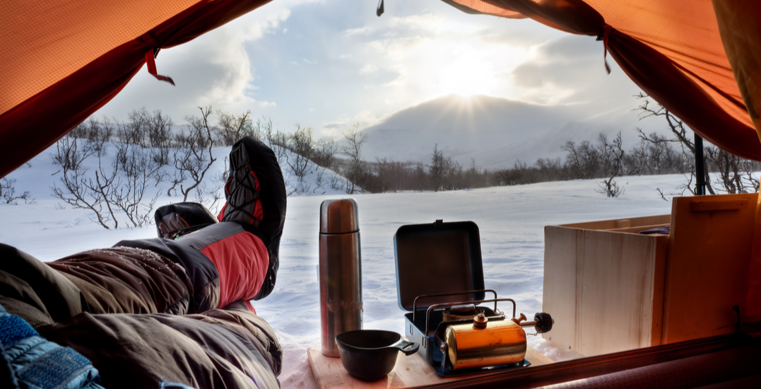 7 awesome places you can camp in Alberta this winter